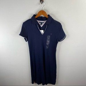 Tommy Hilfiger Navy Blue Polo Dress Size M